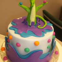 Dragon Cake Class cake from Mike McCarey in Atlanta all modeling chocolate! He was a great teacher