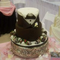 Tux Groom Cake this was from 2 Sweet sisters