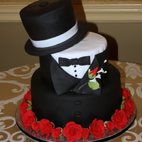Top Hat And Tux Grooms Cake Thanks for looking!
