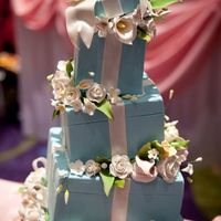 Topsy Tiffany Boxes Show cake...Thanks for looking!