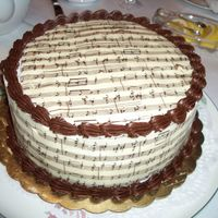 For A Musical Friend White chocolate transfer was a b**** to do.