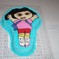 Bf Granddaughter's 2Nd Birthday Cake My first novelty cake - boy, was my back aching!