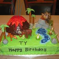 Ice Age 3 Dawn Of The Dinosaurs Cake