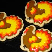 Thanksgiving Cookies   NFSC with Royal Icing