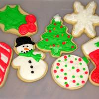 Christmas Cookies Miscellaneous Christmas cookies for our open house...NFSC with royal icing.