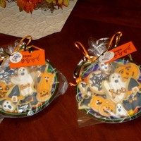 Halloween Cookies Halloween Cookies...some decorated by my 6-year-old son...NFSC and royal icing.