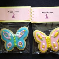 Packaged Easter Cookies NFSC w/ royal icing