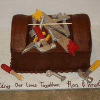 The Tool Box This cake was done for a Jack and Jill Wedding shower. The couple were both remarrying and they were having a Lowes gift card party. I was...