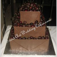 Chocolate Packages Chocolate clay wrapped. Chocolate dipped and plain cherries.