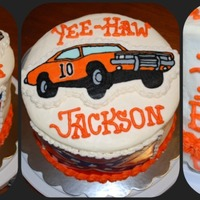Dukes Of Hazzard I did this for a boy who turned 10, that is why it is numbered 10 instead of 01. The mom wanted a Dukes of Hazzard theme and it to have a...