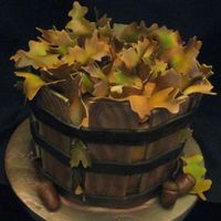 Basket Of Fall Leaves Inspiration from all the cakes on this website