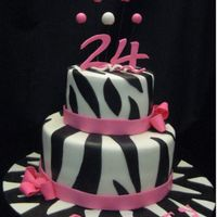 Zebra Stripe Cake Inspiration from cakes on this website