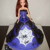 Witch Doll Cake