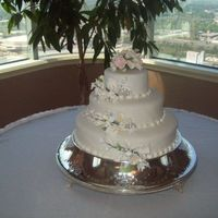 My First Wedding Cake!!