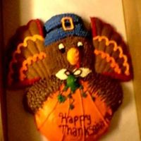 Gobble, Gobble!   I made this one a couple of years ago and am thinking about makinh it again this year!! He's just too cute!