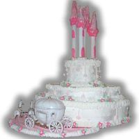 Castle Cake For Princess Party made for friends daughters birthday party