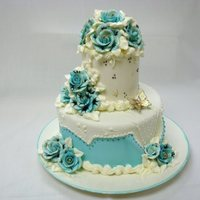 Small Fondant Wedding