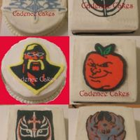 Wwe Images  These are FBCT that I am practicing to use for my son's bday cake. Now I just have to figure out how to use them all on the same cake...