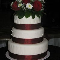 My Sister's Wedding Cake June 30Th 2007