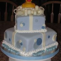 Ducky Baby Shower  First, thank you to DianeLM~ I saw your cake and thought it was perfect for a client of mine! I hope mine does your design justice!My...