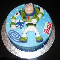 Buzz Lightyear   For my friends ittle 3 year old. all made out of fondant.