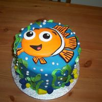 Nemo Cake  Here is a picture of a cake I did recently...had very short notice and the couple was taking it 4 hours away. So...I had to come up with a...
