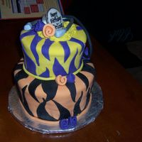 Lsu Birthday this was for a doctor that i work for - he graduated from lsu.