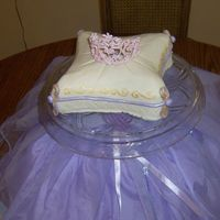 Princess Birthday Cake Made for my daughter's 4th b-day!