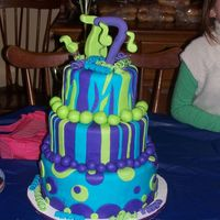 Birthday Cake For 7 Y/o Jonas Brothers Birthday Cake