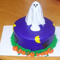 Small Halloween Cake