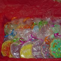 Box Of Dozen I made these for my dad's 57th Birthday. It looks kinda girly with all the colors but it' what I had on hand, Im sure he wouldn&#...