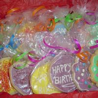 Dozen I made these for my dad's 57th birthday. They look kinda girly cause the colors, but it's what I had on hand. It looks kinda...