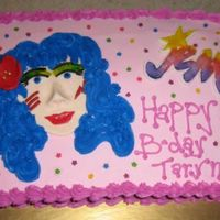 Jem And The Holograms Cake