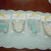 Baby Cookies Shower favors.