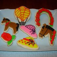 Derby Cookies   These are practice cookies for Derby.
