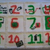 12 Days Of Christmas Jazzercise Version  Made this for instructors Christmas party - 1 great staff to work with, 2 jazz hands, 3 exertubes, 4 jazz squares, 5 microphones, 6...