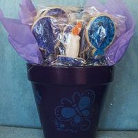 Cookie Bouquet This is a picture of my latest birthday cookie bouquet. Just delivered it.