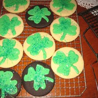 St. Patricks Day Cookie Order The White cookies are NFSC with Gemini's icing on them. The chocolate ones are Pumpkin Waffles recipe. They are all sprinkled with...