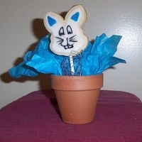 Easter Cookie Bouquet One of my first bouquets. Single bunny