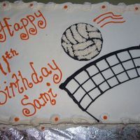 Volleyball Birthday