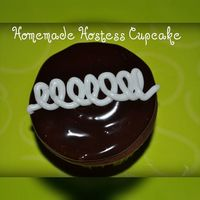 My Homemade Hostess Cupcake My imitation of a Hostess cupcake, with cream filling too! They were sooo tasty!