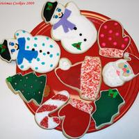 Christmas Assortment 2009! NFSC with royal icing. Thanks for looking!