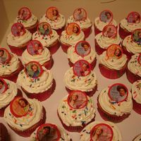 High School Musical 2 Cupcakes