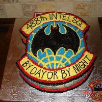 488Th Intelligence Squadron Patch   For our Chief's going away. It's our squadron patch. I hate those dark colors!