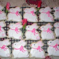 Some Bunny Loves You cream cheese sugar cookies, RI,Thanks for looking
