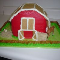 Barn Cake (View 3)   See other picture.