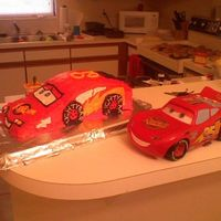 Lightning Mcqueen   My friend's son's second birthday