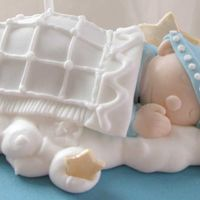 Close Up Of Baby Topper This is a close-up of the baby from the shower cake I posted last week. It's modeled from fondant with royal icing accents. I'm...