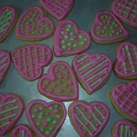 Valentine Cookies My daughter asked for these for her class! They will be bagged and tagged later today...Off to make my other daughter something!! Have a...