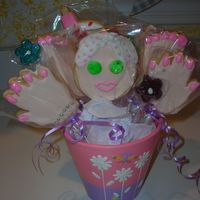 Spa Cookie Bouquet Thanks Everyone for your HELP.My Mom LOVED this for her B day!!
